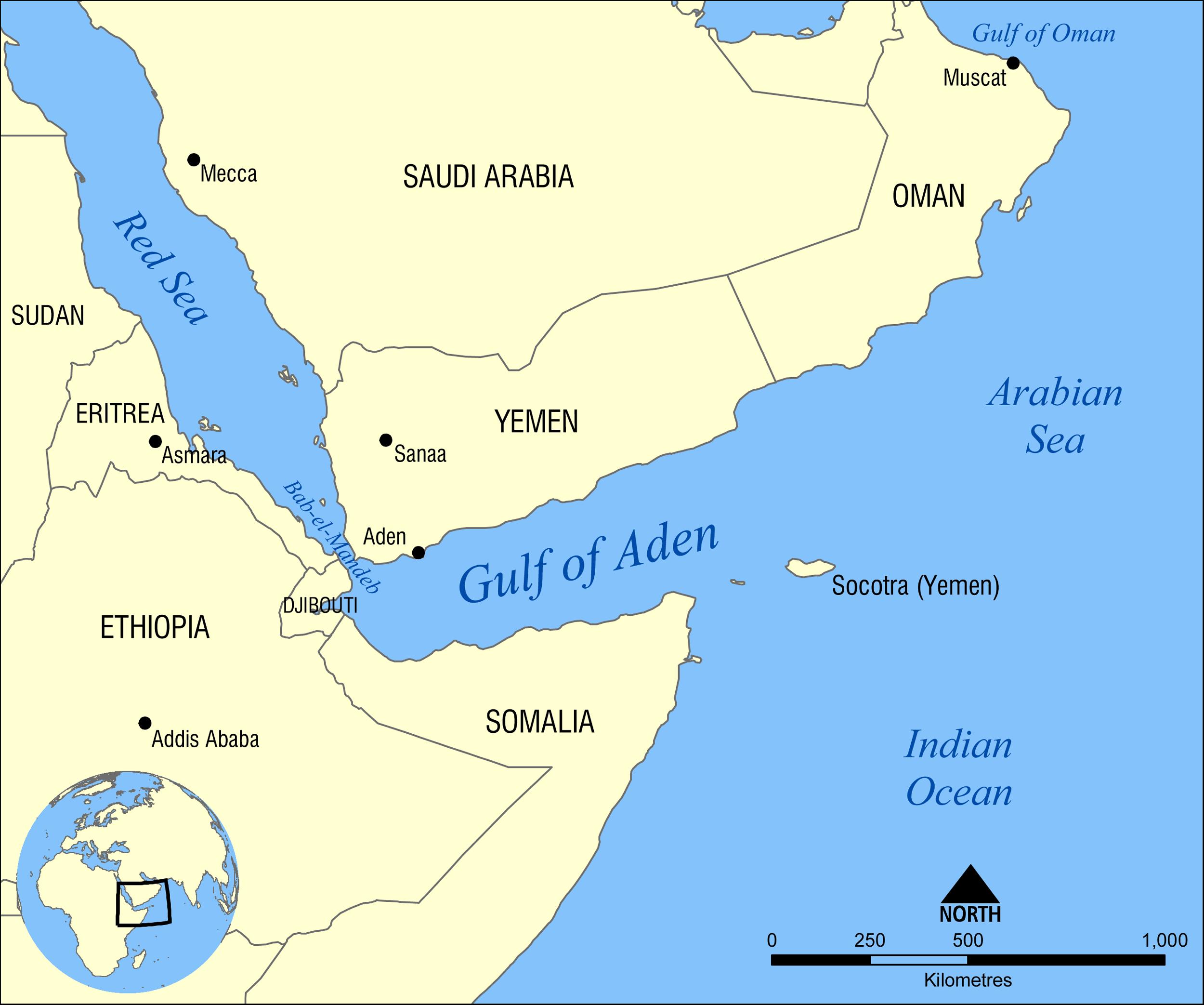 اليمن، باب المندب