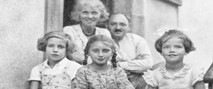 يوليوس هيرش وعائلته