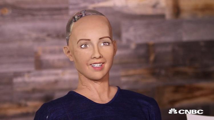 الروبوت صوفيا، تقنية، ذكاء اصطناعي