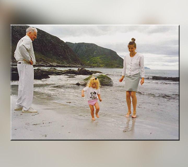ماي موزر وعائلتها