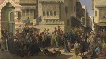 القاهرة القديمة، لوحة، رسم