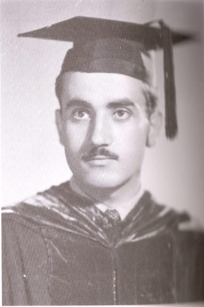 جورج حبش، عام 1951.