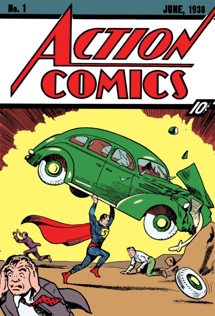 العدد الأول من أكشن كوميكس، 1938
