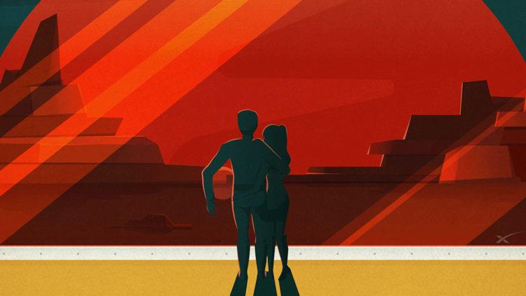 المريخ، السفر للمريخ، إيلون ماسك