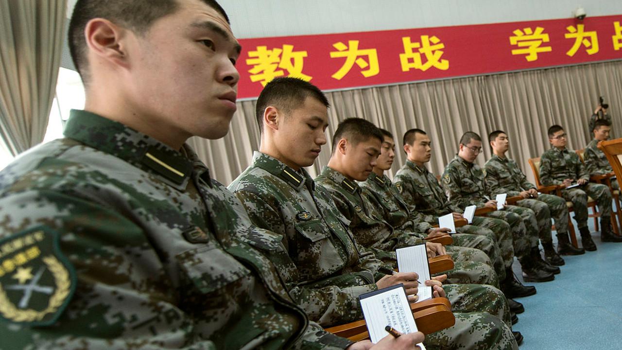 الصين، جيش التحرير الشعبي الصيني