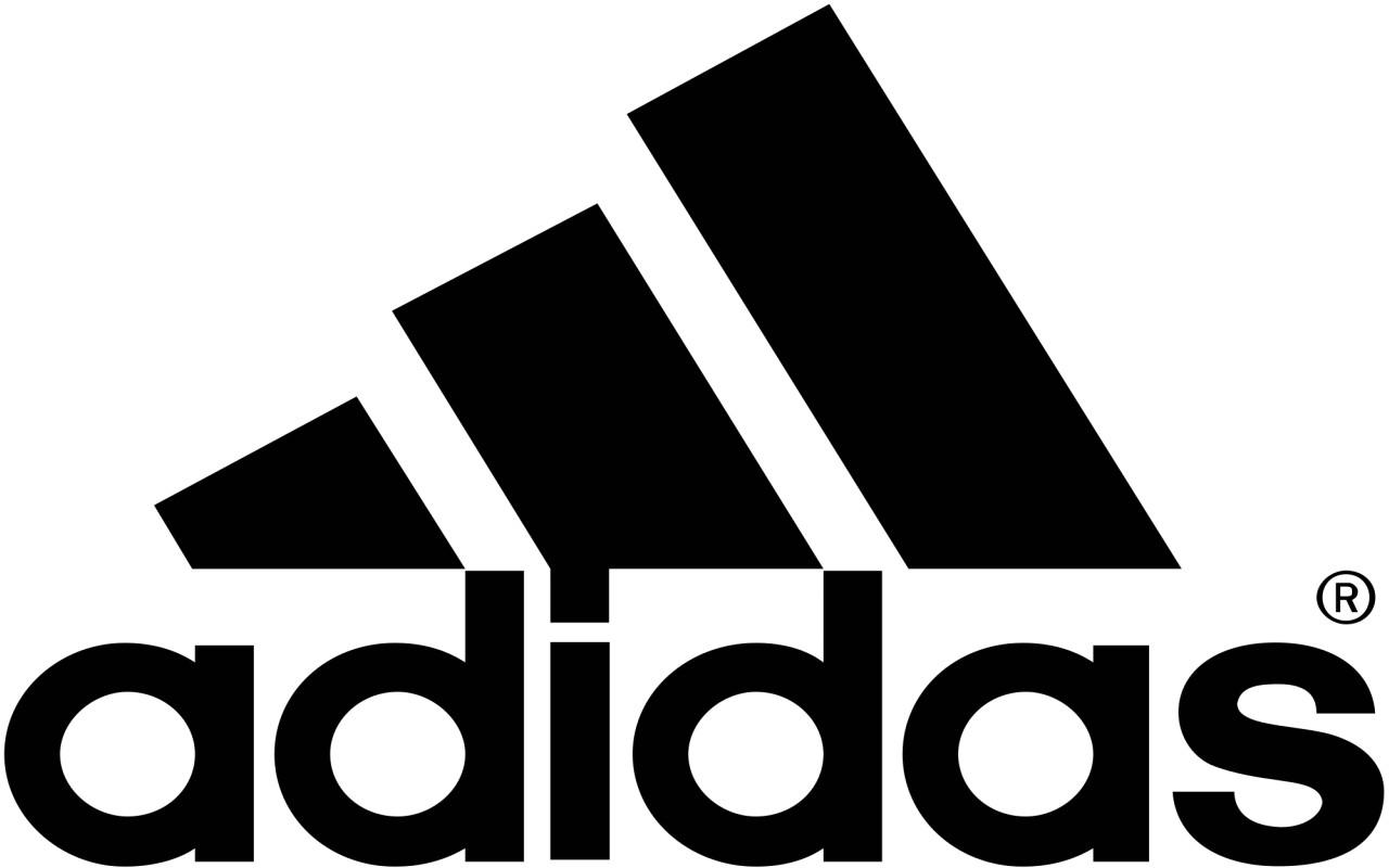 شعار شركة أديداس الرياضية