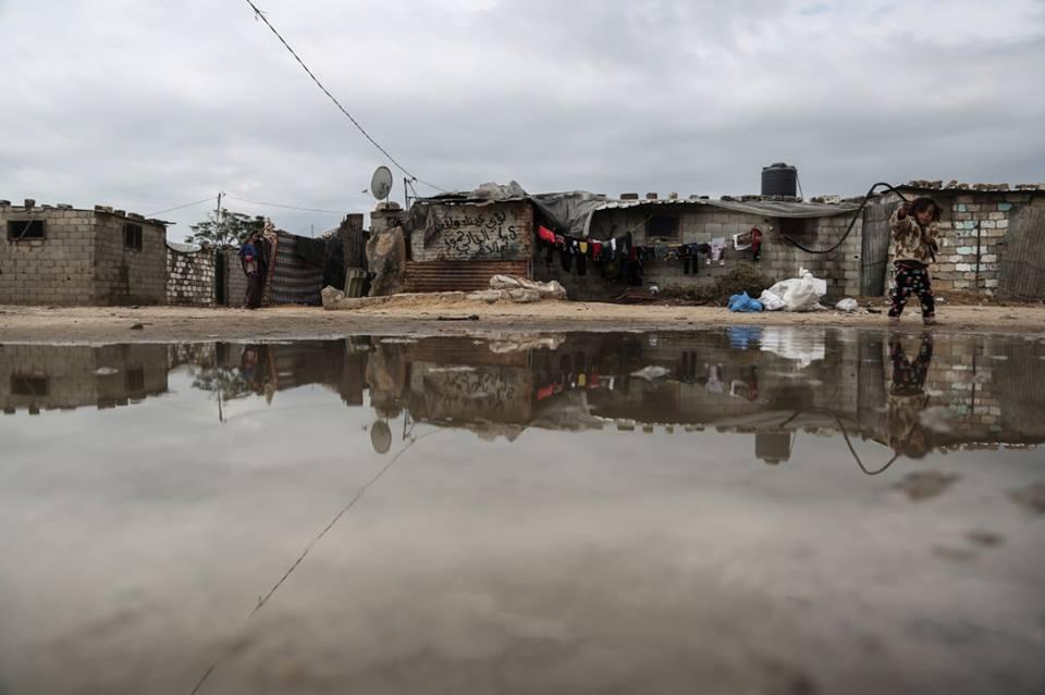 الفقر في غزة, مناطق فقيرة, فلسطين, مياه ملوثة