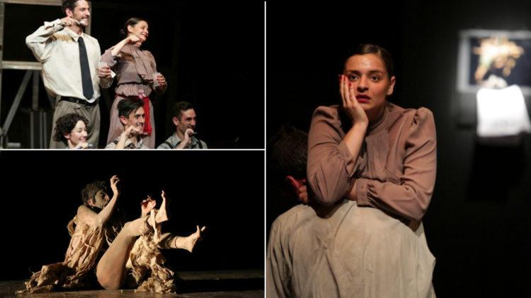 مسرح، تشيلي، القبو، المرأة الدجاجة