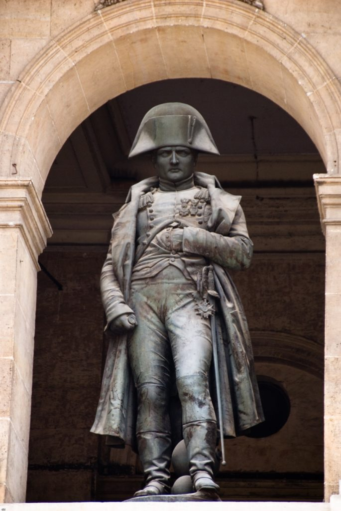نابليون بونابرت، باريس