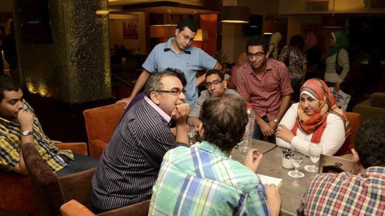 أحمد خالد توفيق، الشباب