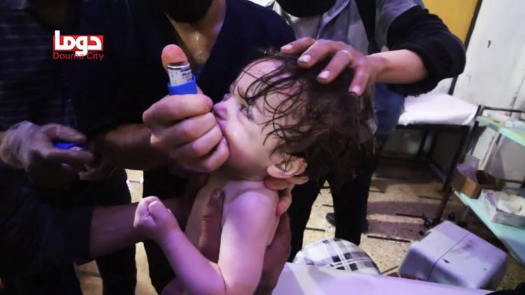دوما, النظام السوري, قصف دوما, الثورة السورية, الكيماوي, أطفال سوريا