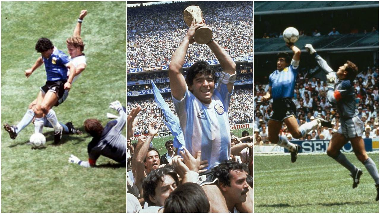 مارادونا، الأرجنتين، كأس العالم، ديفيد بيكهام، دييجو سيميوني،