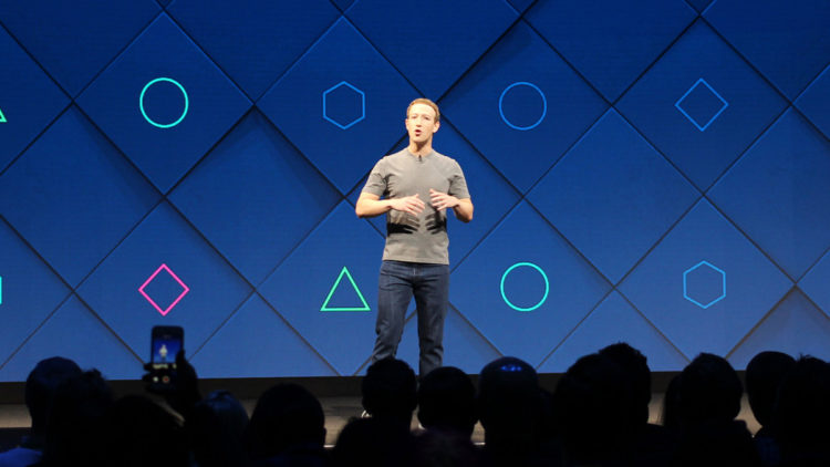مارك زوكربيرج, فيسبوك, حقوق الإنسان, منصات التواصل الاجتماعي
