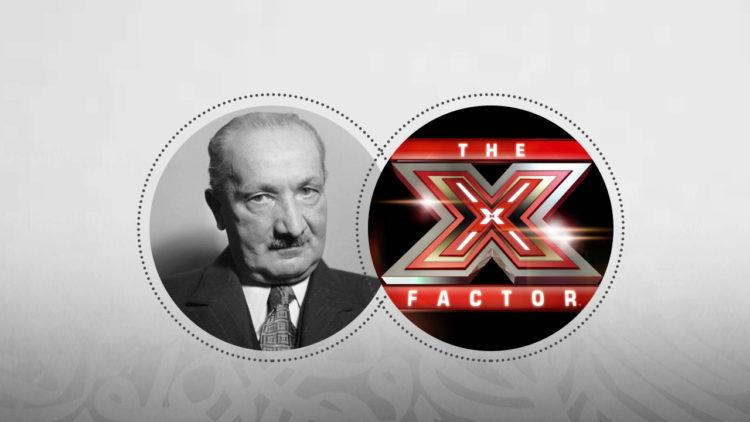 هيدجر، x factor