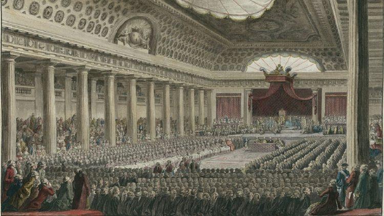 الثورة الفرنسية, الديمقراطية, برلمان, مؤسسات رسمية
