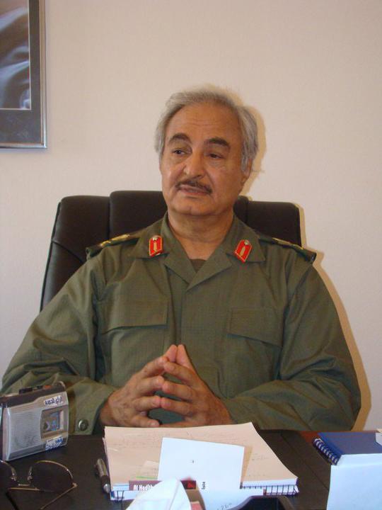 خليفة حفتر, ليبيا
