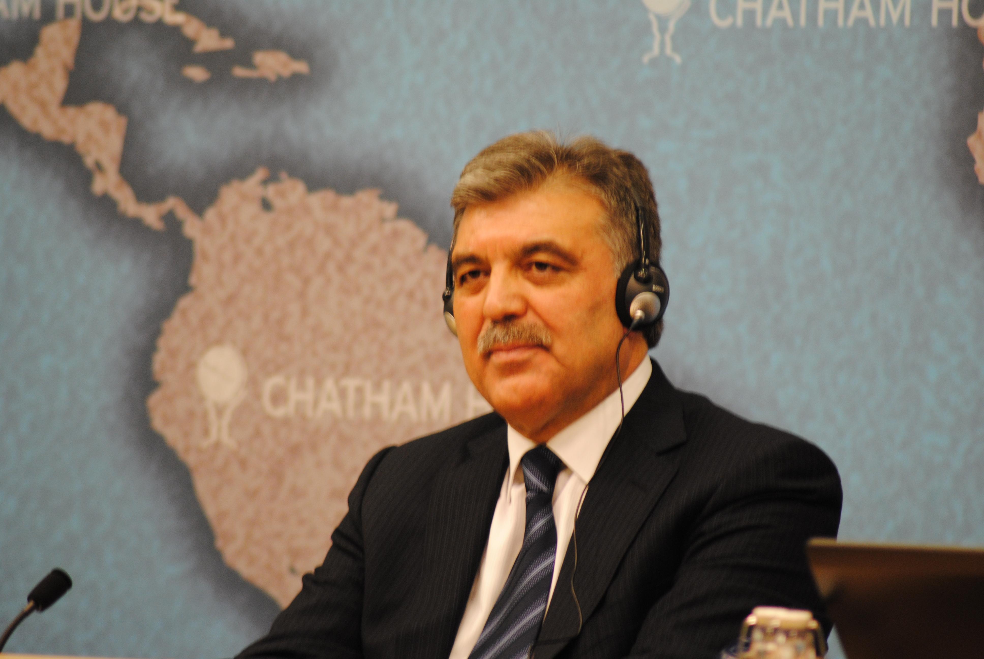 عبدالله غول، تركيا