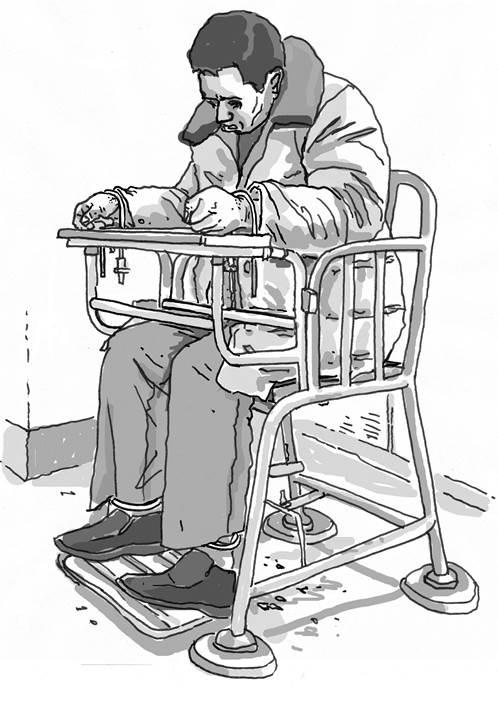 تعذيب المسلمين, الصين, أدوات تعذيب, كرسي النمر