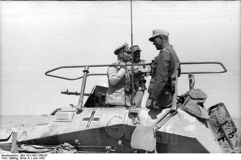 معركة العلمين, الحرب العالمية الثانية, ألمانيا, مصر