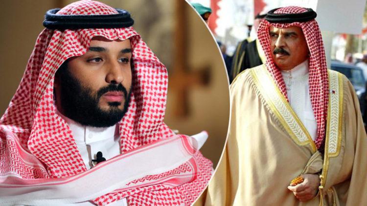 محمد بن سلمان, حمد عيسى آل خليفة, السعودية, البحرين, العلاقات البحرينية السعودية