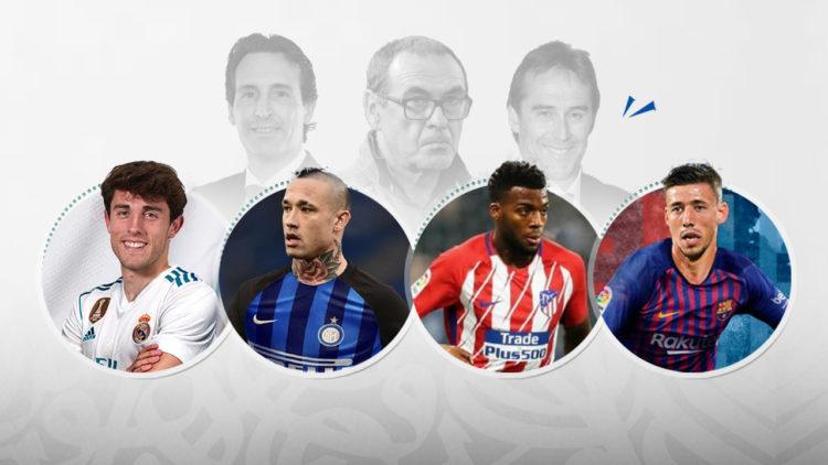 كرة القدم, الانتقالات الصيفية, نيانجولان, إنترميلانو, روما, أتلتيكومدريد, ريال مدريد, أودريوزولا, ريال سوسيداد, برشلونة, ليمار, ماوريسيو ساري, إيمري