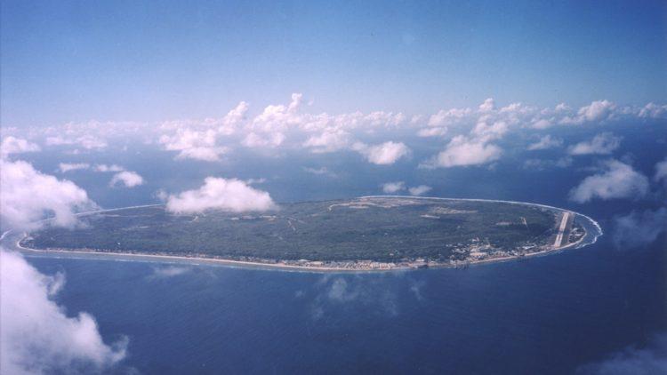 جزيرة ناورو, جزر طبيعية, بيئة