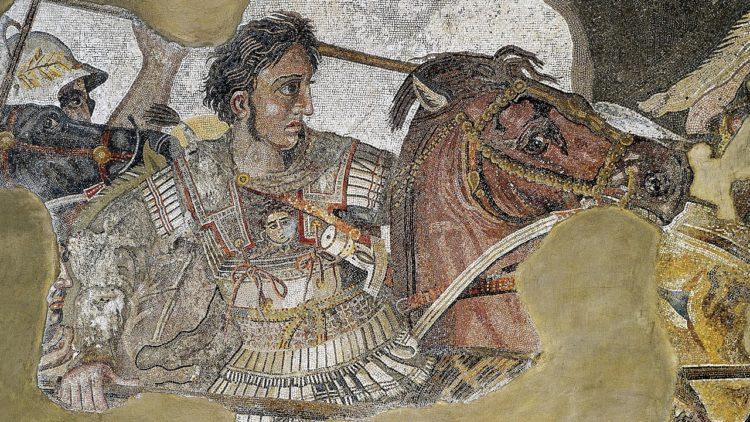 فسيفساء الإسكندر الأكبر