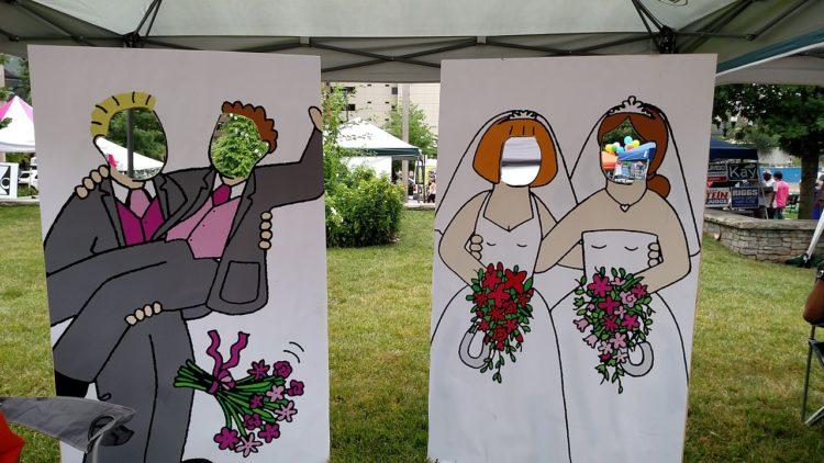احتفال بالزواج المثلي في مهرجان بالولايات المتحدة
