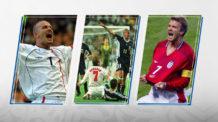 ديفيد بيكهام، كأس العالم، إنجلترا، الأرجنتين، فيرون، دييجو سيميوني