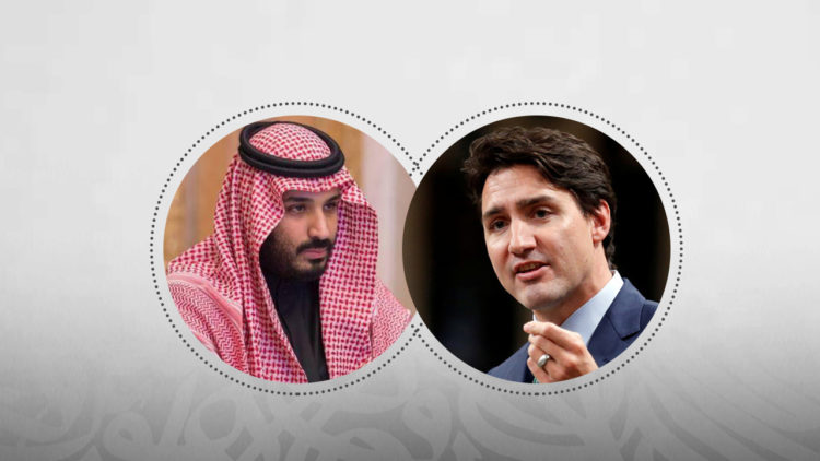 جاستن ترودو, كندا, ولي العهد السعودي, محمد بن سلمان, السعودية