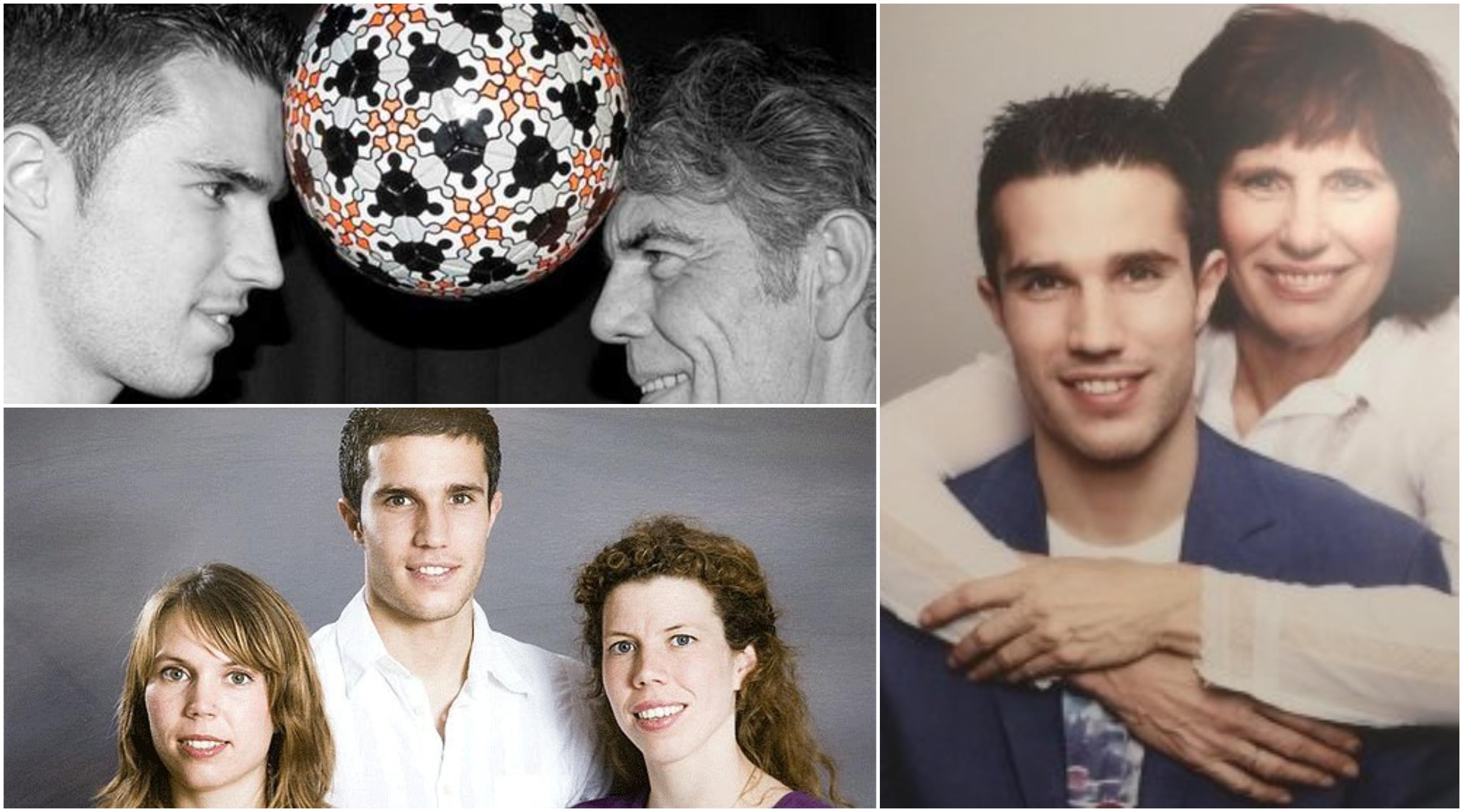 روبن فان بيرسي وعائلته، فان بيرسي الصغير،