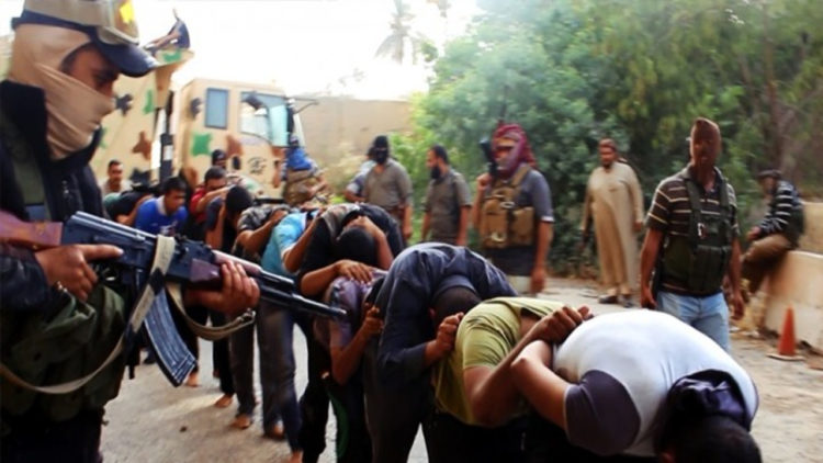 داعش, العراق, مذابح داعش, أسرى داعش