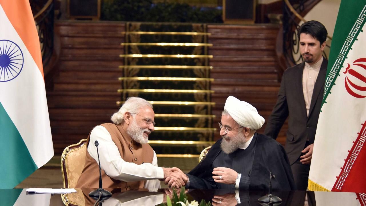 حسن روحاني، ناريندا مودي، الهند، إيران