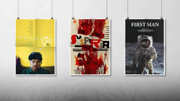 أفلام أجنبية, موسم الجوائز السينمائية, مهرجان كان 2018, at eternity's gate, suspiria, the first man