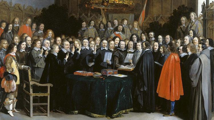 معاهدة مونستر، الدولة القومية الحديثة، سياسة