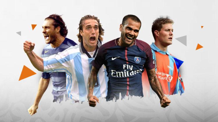 غابرييل باتيستوتا, داني ألفيش, كريستيان فييري, كرة القدم العالمية, توتنهام, الأرجنتين, البرازيل