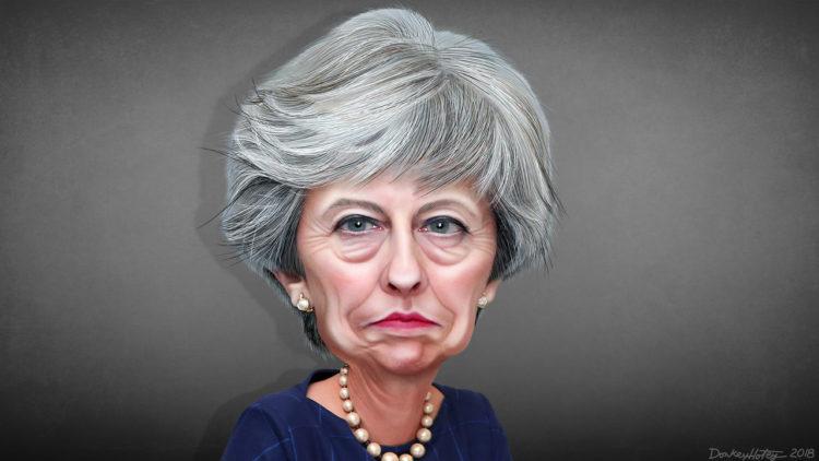تيريزا ماي, بريطانيا, الاتحاد الأوروبي, مفاوضات البيركست