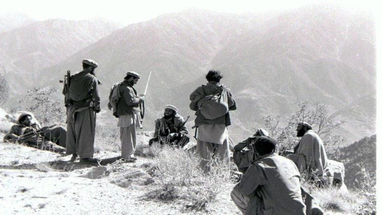 مجاهدين افغان، أفغانستان