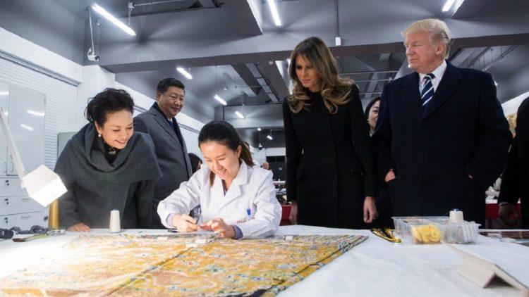 دونالد ترامب، الصين، الولايات المتحدة الأمريكية، شي جينبينغ