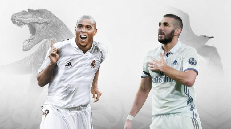 ريال مدريد, كريم بنزيما, رونالدو دي ليما, كرة القدم العالمية, الديناصورات
