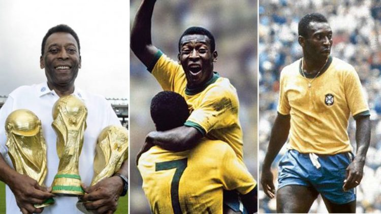 بيليه، منتخب البرازيل، كأس العالم.