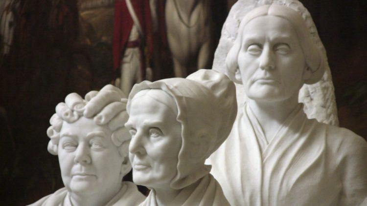 قضايا المرأة، الحركة النسوية، إليزابيث كادي ستانتون، سوزان أنتوني، لوكريتيا موت