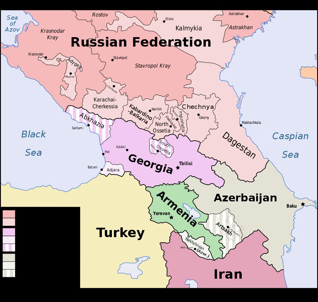 داغستان، الشيشان