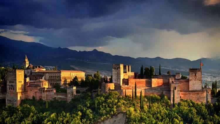 قصر الحمراء, الأندلس, إسبانيا, تاريخ, تاريخ إسلامي