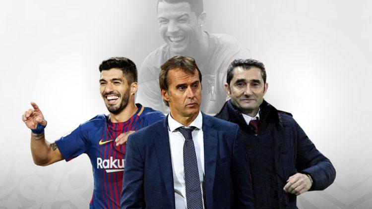 ريال مدريد, برشلونة, الكلاسيكو, إرنستو فالفيردي, لويس سواريز, جولين لوبيتيجي, ميسي