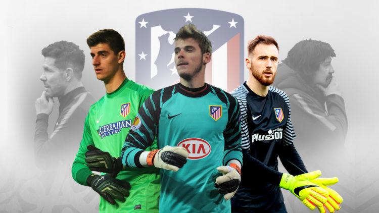 حراس مرمى أتلتيكو مدريد, يان أوبلاك, دافيد دي خيا, تيبو كورتوا, كرة القدم العالمية