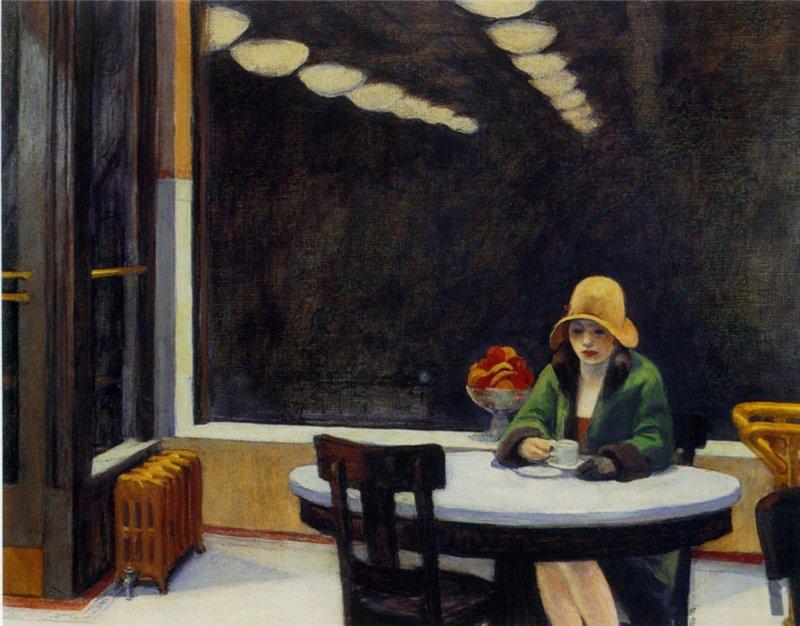 المطعم الآلي، إدوارد هوبر