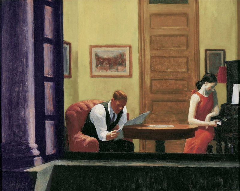 حجرة في نيويورك، إدوارد هوبر