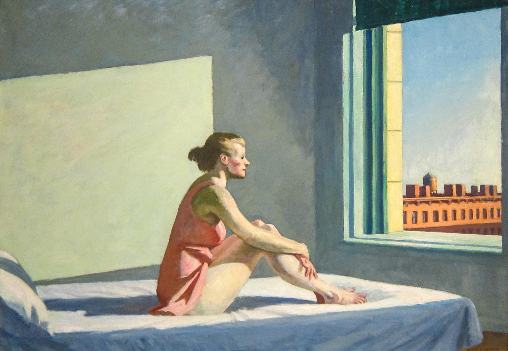 شمس الصباح، إدوارد هوبر