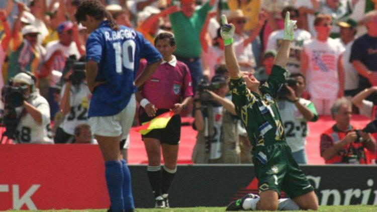 روبيرتو باجيو، منتخب إيطاليا، منتخب البرازيل، كرة قدم